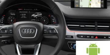 Интеграция навигации: ANDROID и APPLE TV системы к штатному монитору автомобиля!