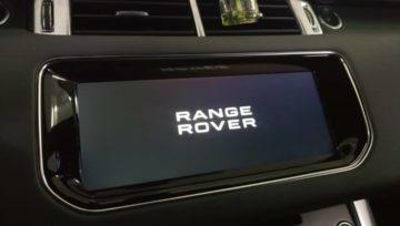 Range Rover Sport🚘заменили штатный монитор🛠️ на новый в стиле Incontrol 🆗